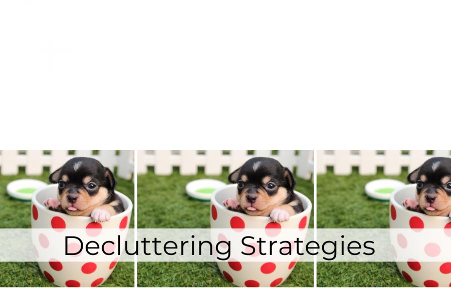 decluttering strategies