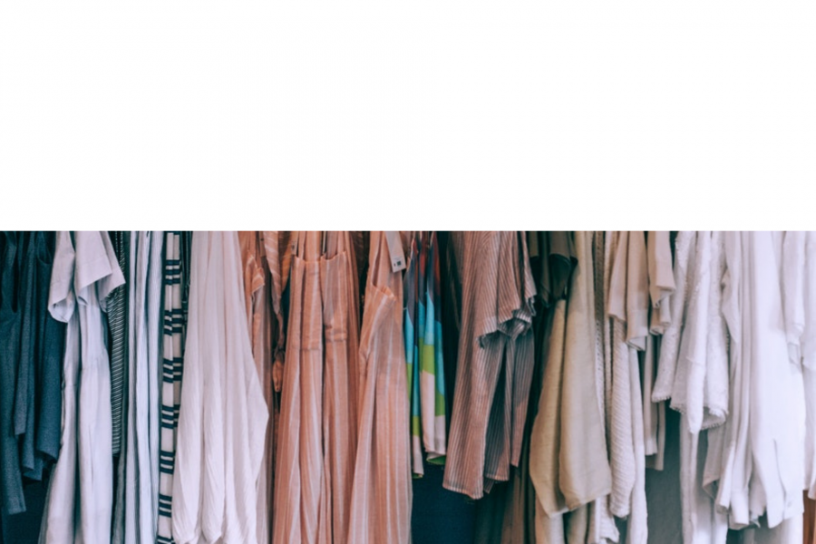 how do you declutter too many clothes